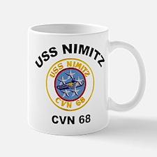 USS Nimitz CVN 68 Mugs