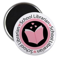 School Librarian Gift Magnet