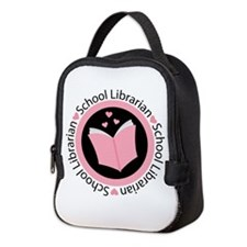 School Librarian Gift Neoprene Lunch Bag