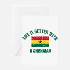 Life is better with a Ghanaian Greeting Card