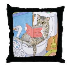 Cat 535 Throw Pillow