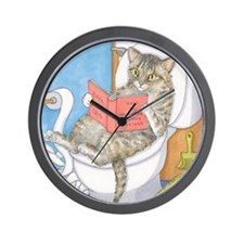 Cat 535 Wall Clock