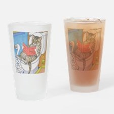 Cat 535 Drinking Glass