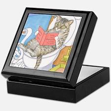 Cat 535 Keepsake Box