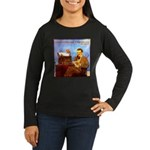 Voice-Operated Typewriter Women's Long Sleeve Dark