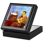 Voice-Operated Typewriter Keepsake Box