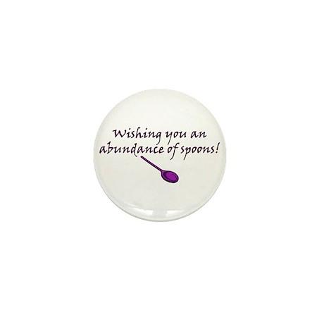 Wishing you an Abundance of S Mini Button (10 pack