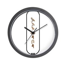 "Maurice in Hieroglyphics ""Col Wall Clock"