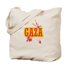 Gaza blood T shirts Tote Bag