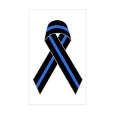 Memorial Ribbon Rectangle Bumper Stickers