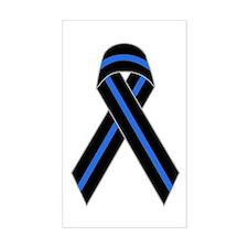 Memorial Ribbon Rectangle Decal