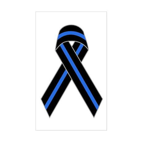 Memorial Ribbon Rectangle Sticker