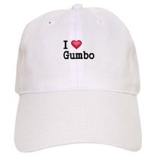I love Gumbo Baseball Baseball Baseball Cap