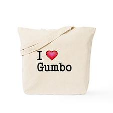 I love Gumbo Tote Bag