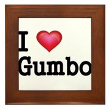 I love Gumbo Framed Tile