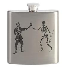 Bartholomew Roberts 1 Black Flask