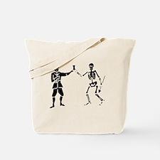 Bartholomew Roberts 1 Black Tote Bag