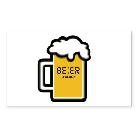 Beer O Clock Sticker