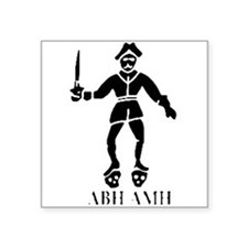 Bartholomew Roberts 2 Black Sticker