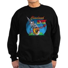 Rock-TowerColor.png Sweatshirt