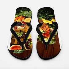 Food Flip Flops