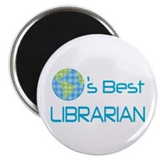 Librarian (Worlds Best) Magnet