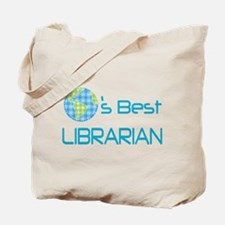 Librarian (Worlds Best) Tote Bag