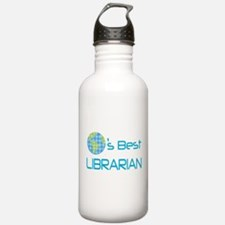 Librarian (Worlds Best) Water Bottle