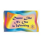 dance LIKE....png Rectangle Car Magnet