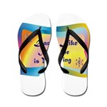 dance LIKE....png Flip Flops