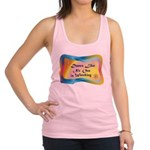 dance LIKE....png Racerback Tank Top