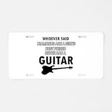 Electric Guitar better than Diamonds Aluminum Lice