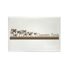 Clearwater, Florida Rectangle Magnet
