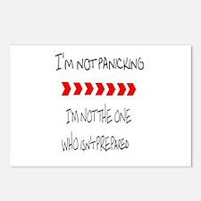 Im prepared Postcards (Package of 8)