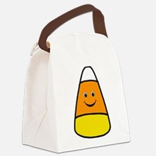 Mr Candy Corn Canvas Lunch Bag