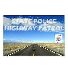 """""""HIGHWAY PATROL"""" Postcards (Package of 8"""