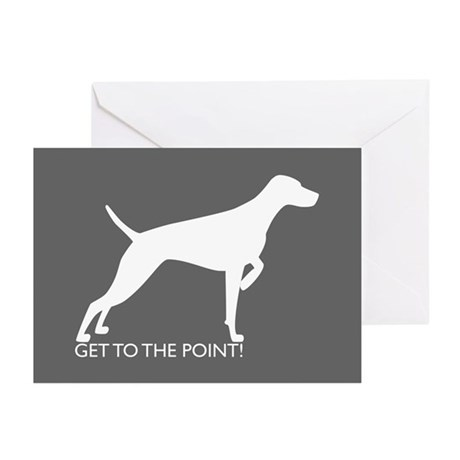 Cards (Pk of 10) - The Point Charcoal