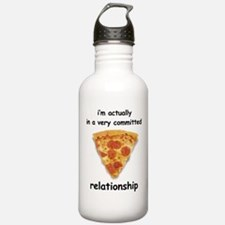 Im actually in a relationship Water Bottle
