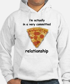 Im actually in a relationship Hoodie