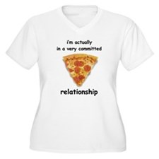 Im actually in a relationship Plus Size T-Shirt