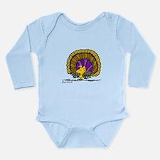 Woodstock Turkey Long Sleeve Infant Bodysuit