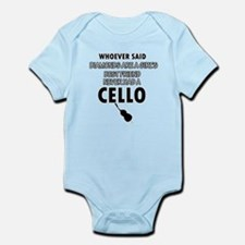 Cello better than Diamonds Infant Bodysuit