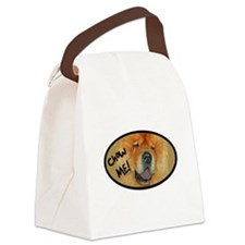 chow me dog Canvas Lunch Bag