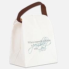 Funny God Canvas Lunch Bag