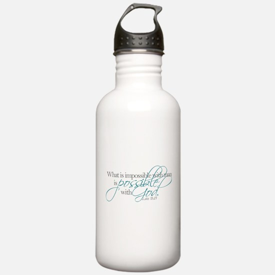 Funny Bible verse Sports Water Bottle