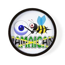 I BE JAMAICAN Wall Clock