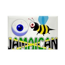 I BE JAMAICAN Magnets