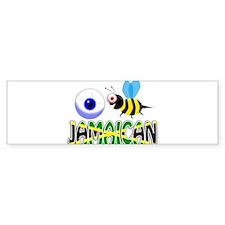 I BE JAMAICAN Bumper Bumper Sticker