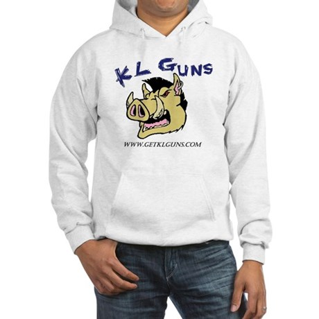 Full Color KL Guns Logo with web Hooded Sweatshirt