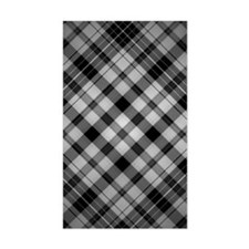 Black Checks Decal
